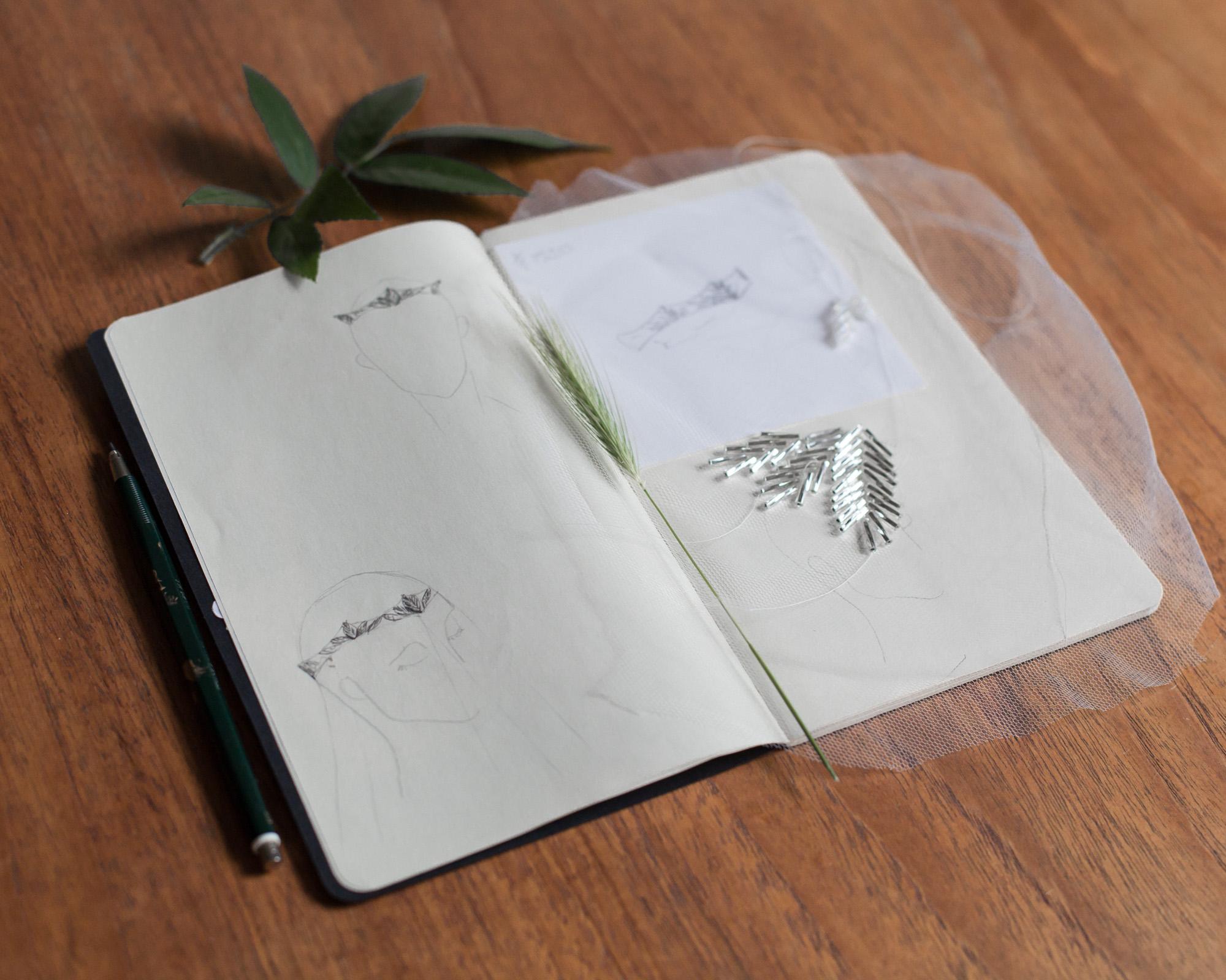 sketch-for-bridal-headpiece-alternative-bride
