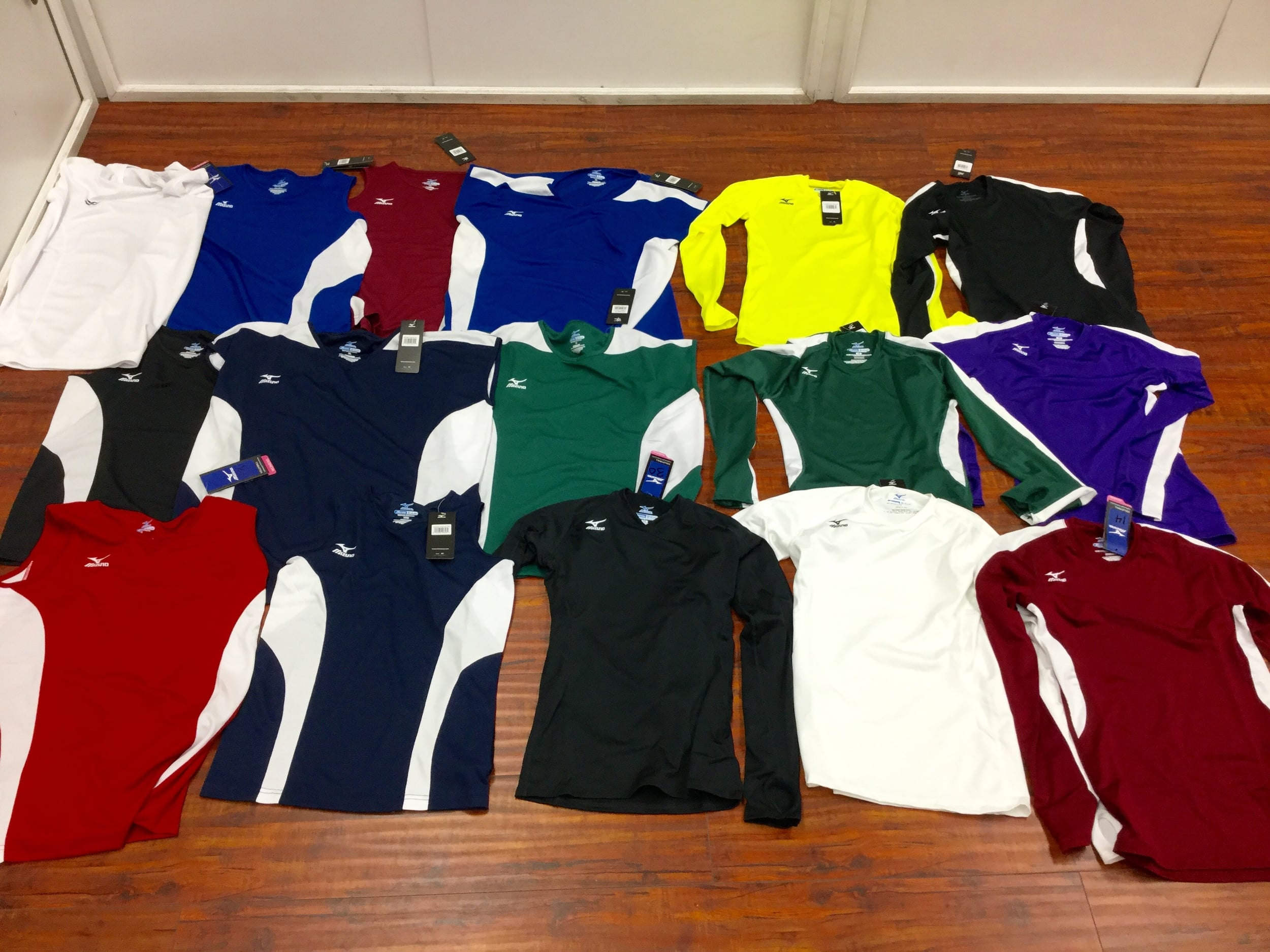 Mizuno Womens Volleyball Long Sleeve Tops