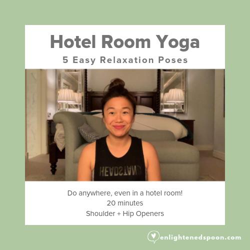 Hotel Room Yoga - 5 easy yoga poses