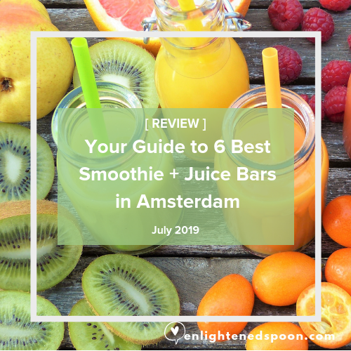 Amsterdam Best Smoothies and Juice Bars  Guide