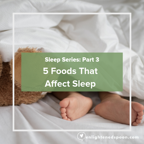 5 Foods that affect sleep