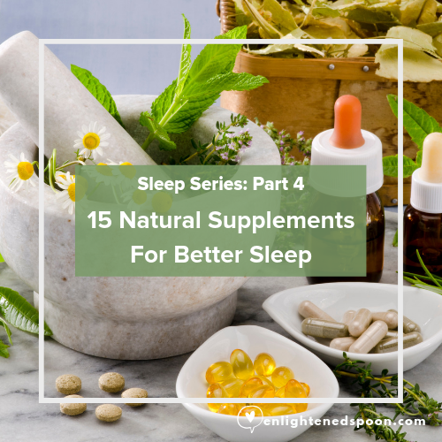 15 natural supplements for better sleep