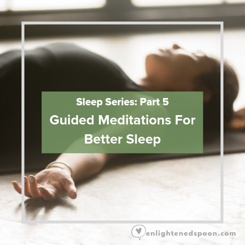 Guided Meditations for better sleep