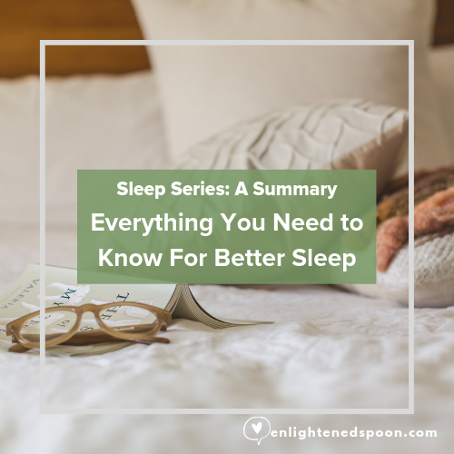 Everything you need to know to get better sleep