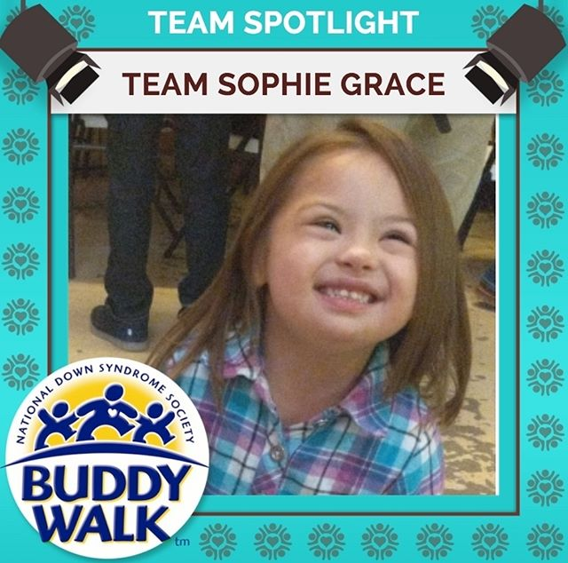 We want to give a big welcome to Team Sophie Grace who will be joining our Buddy Walk for the third year! Will you be joining Team Sophie Grace at this year's annual Buddy Walk on September 15? . . . #BuddyWalk #team #t21family #NDSS #DownSyndrome #DownSyndromeAwareness #t21 #BeInspired #WalkWithUs #DS #advocacy