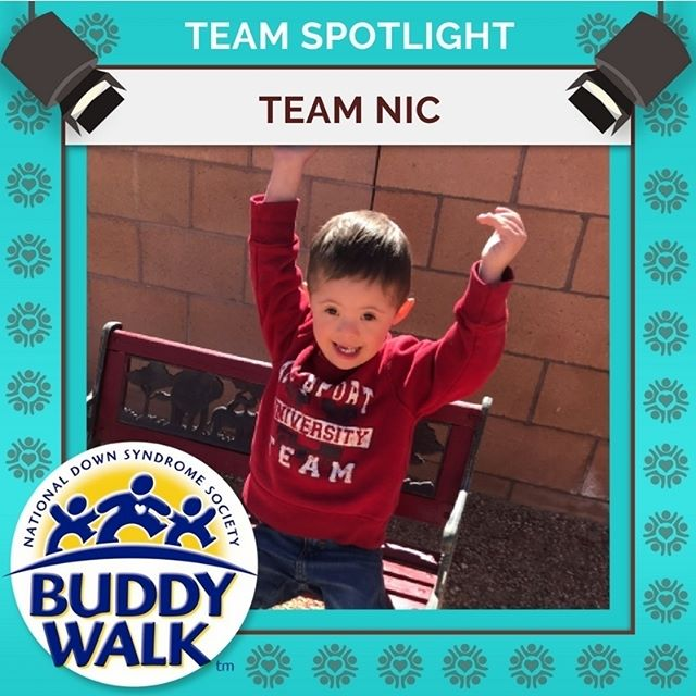 Team Nic is ready to walk for a fourth year at the RGDSN Buddy Walk!  Gather your team and get ready to walk beside them and the rest of our community on September 15! . . . #BuddyWalk #team #t21family #NDSS #DownSyndrome #DownSyndromeAwareness #t21 #BeInspired #WalkWithUs #DS #advocacy
