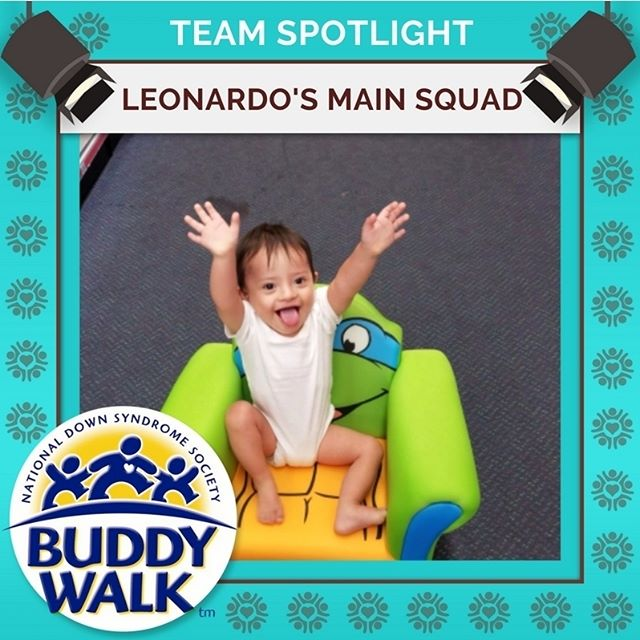 We can't wait to celebrate with all of our amazing teams at the 2018 RGDSN Buddy Walk like Leonardo's Main Squad!  Join us for a great day celebrating individuals with Down syndrome on September 15. . . . #BuddyWalk #team #t21family #NDSS #DownSyndrome #DownSyndromeAwareness #t21 #BeInspired #WalkWithUs #DS #advocacy