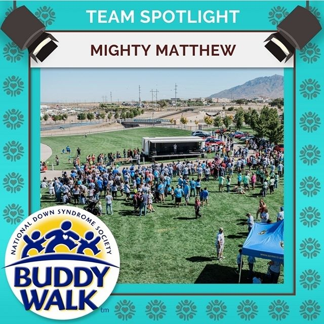 Register today and snag a 2018 Buddy Walk t-shirt. After today, limited shirt sizes will be available on a first come, first serve basis.  Team Mighty Matthew and it's members are ready for this year's annual Buddy Walk, taking their tally to four years of participation. Join us for a great day of celebration on September 15. . . . #BuddyWalk #team #t21family #NDSS #DownSyndrome #DownSyndromeAwareness #t21 #BeInspired #WalkWithUs #DS #advocacy