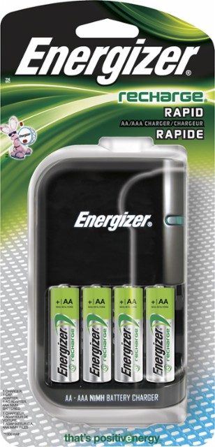 Energizer® - 15-Minute AA and AAA Battery Charger