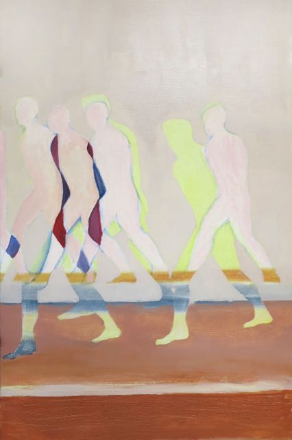 Sans titre, (2), 2015, huile sur toile, 81x54 cm