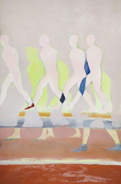 Sans titre, (3), 2015, huile sur toile, 81x54 cm