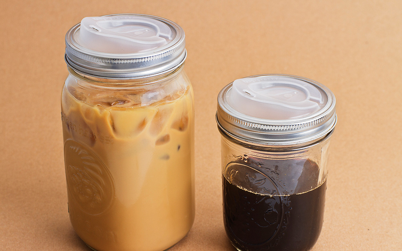 Cuppow! lids on two wide-mouth jars.
