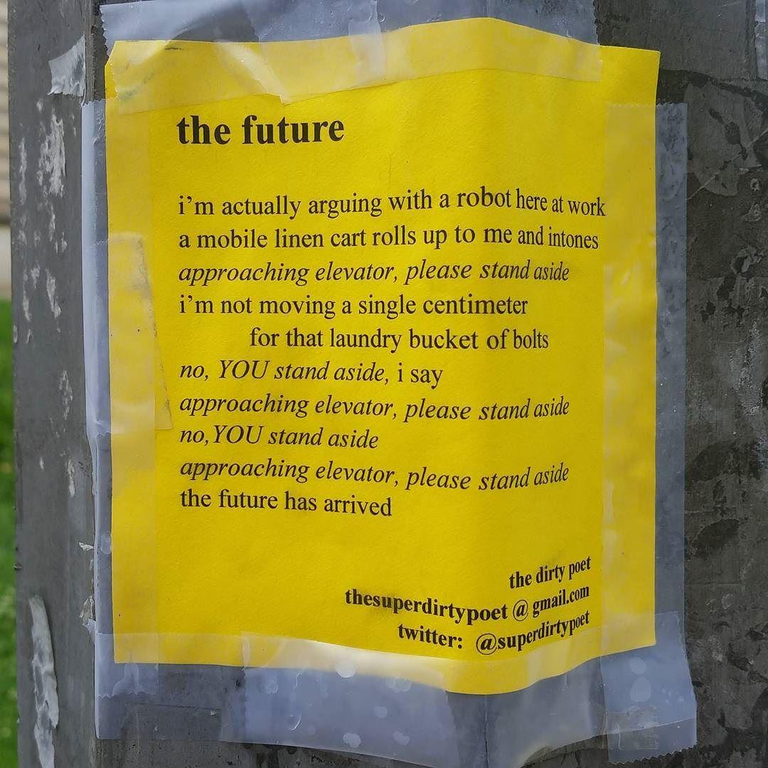 The Future, by @superdirtypoet #publicart #poetry #dirtypoet.jpg