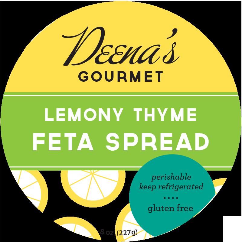 lemony-thyme-feta-spread-deenas-gourmet