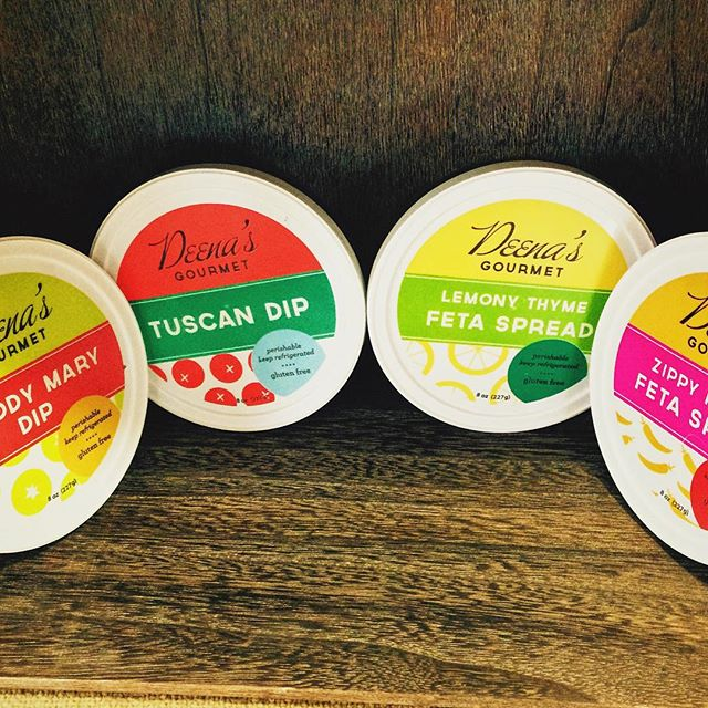 Hot off the press! Deena's new dips just hit shelves today at Kowalski's, Oakdale Hyvee and The Wedge Coop! The Bloody Mary is all the rage with Mascarpone Cheese. Try 1 or all 4!