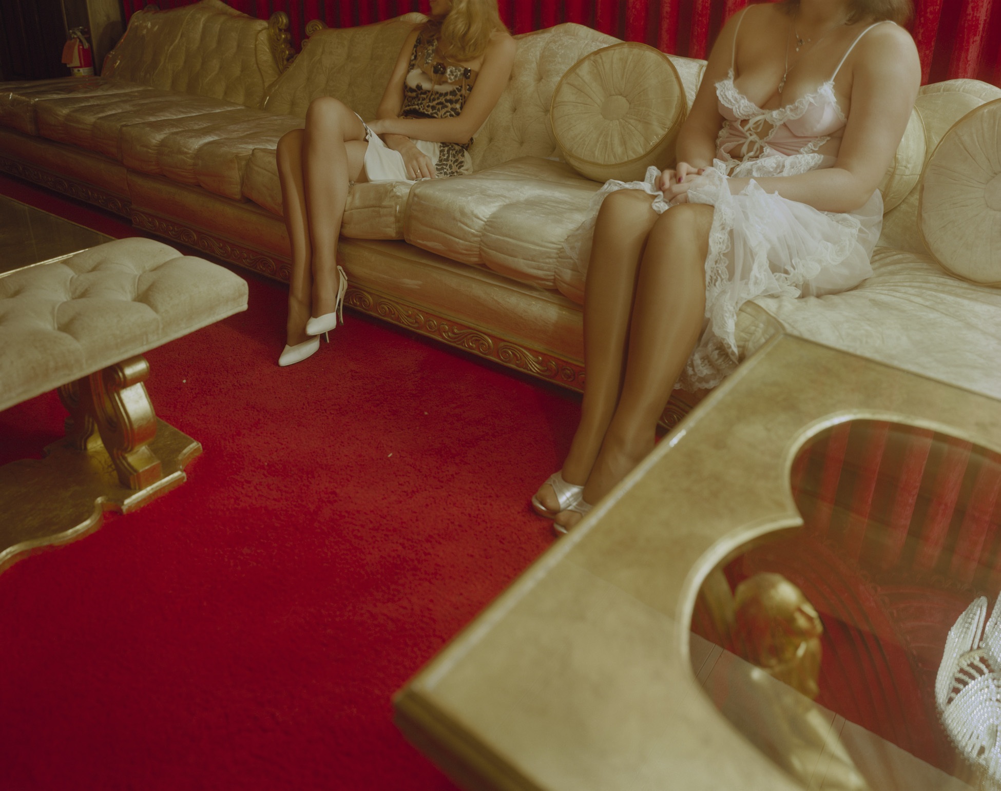 Girls in Parlor