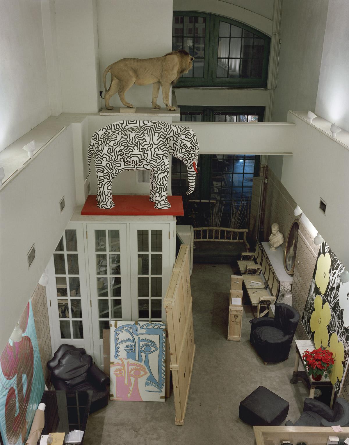 Andy Warhol Factory - 34th & Madison, NY