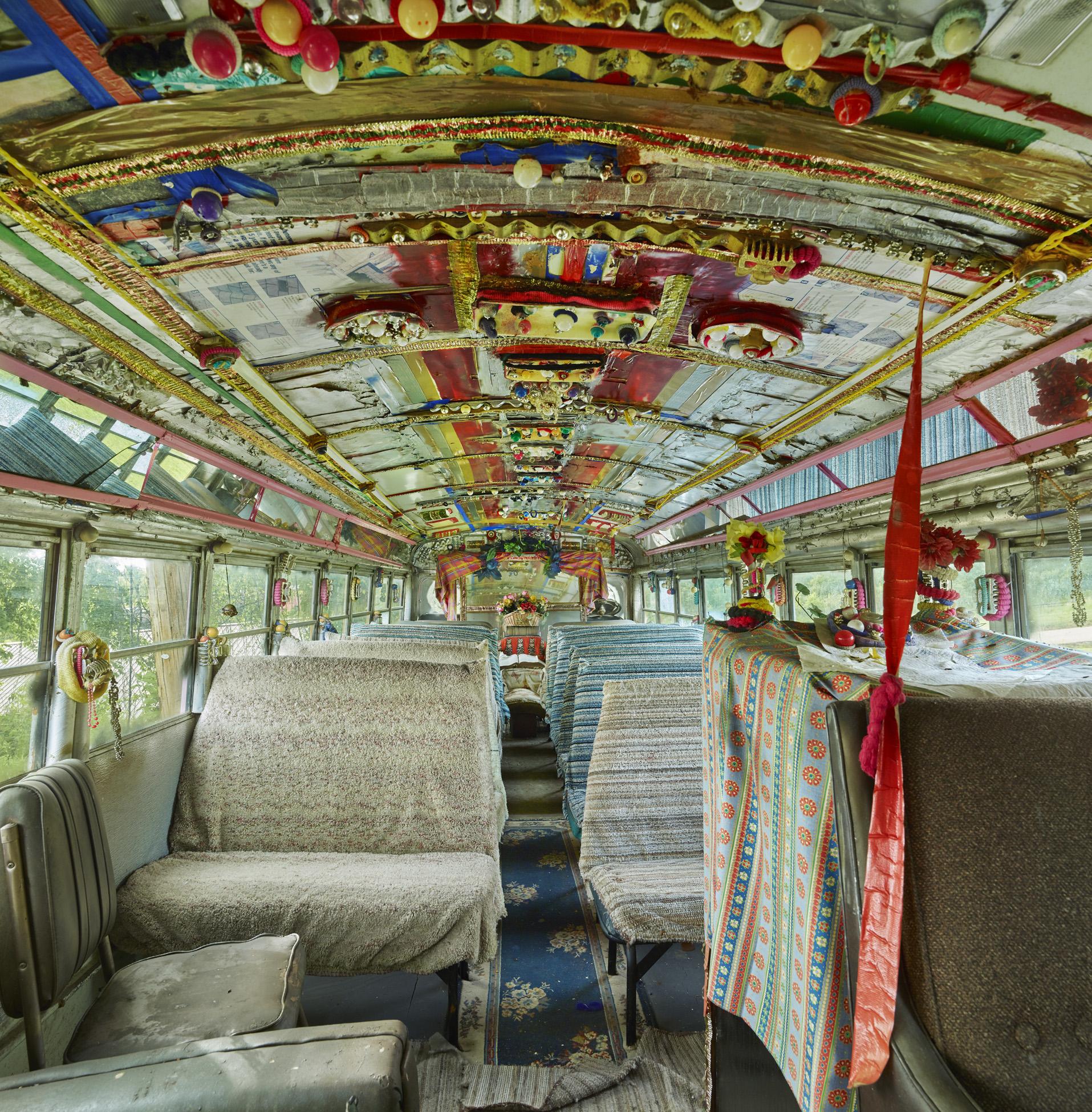 Rv. Dennis chapel bus