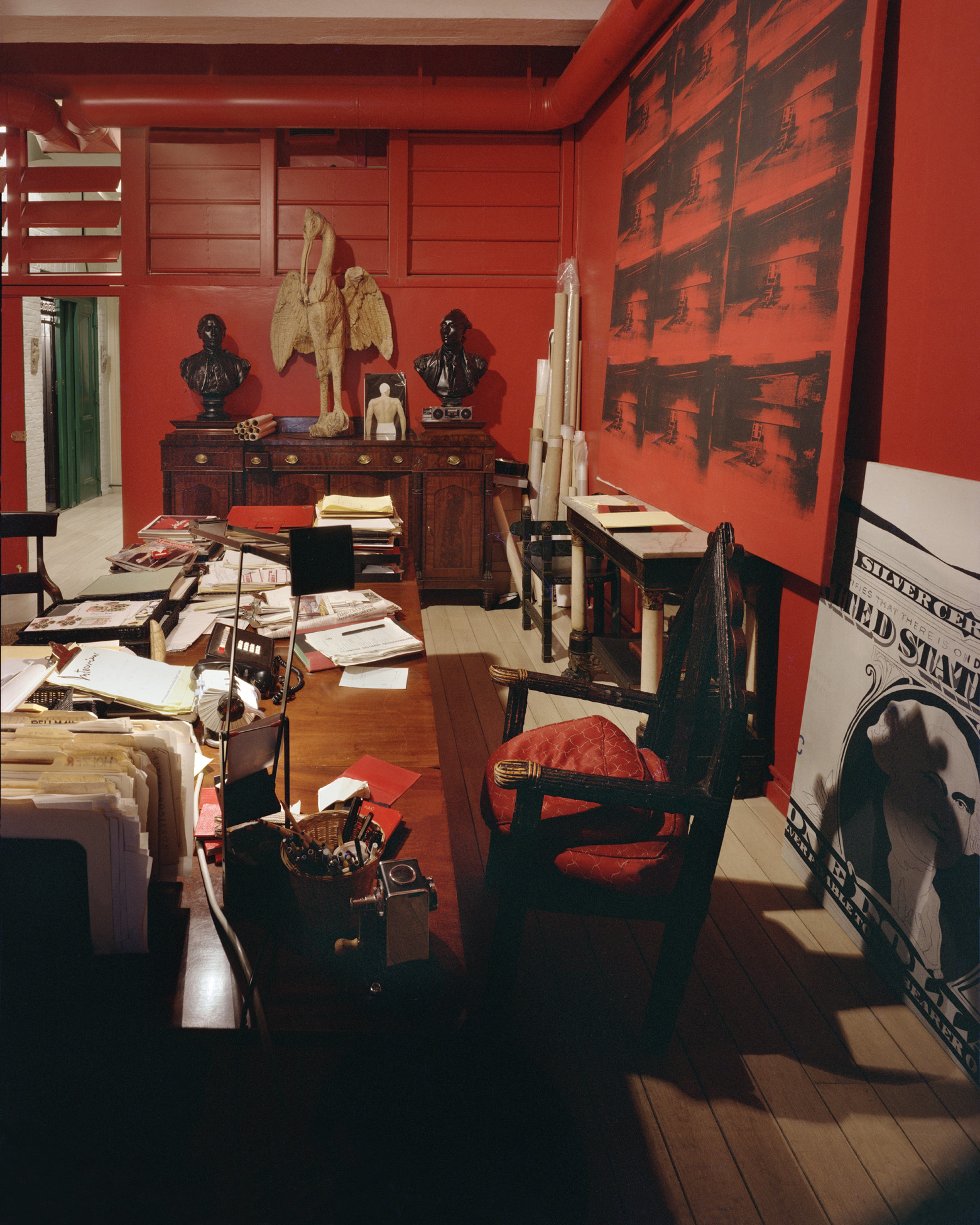 Fred Hughes office