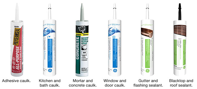 A caulk in every room of the house