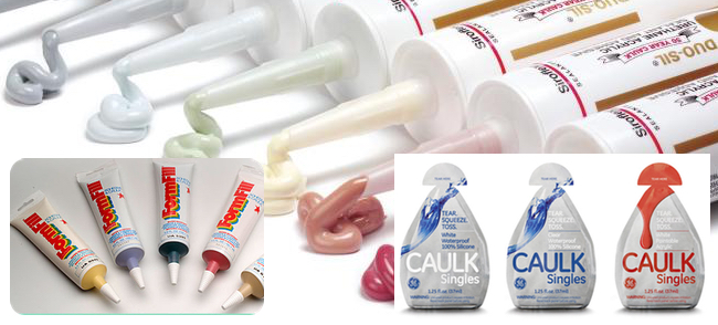 Caulks come in all shapes and sizes!