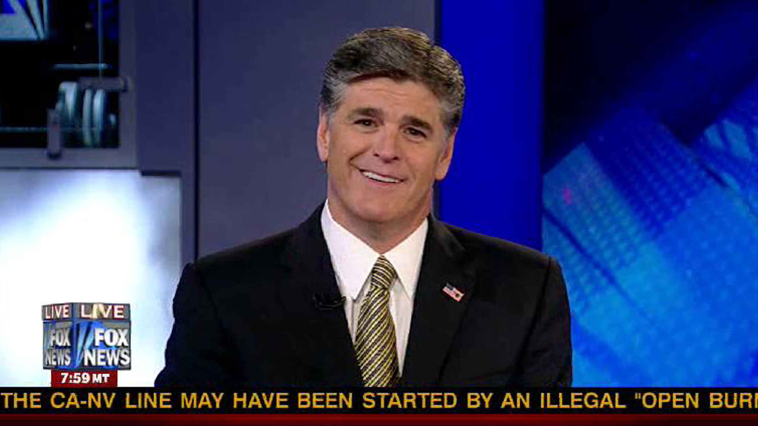 Sean Hannity is Huge Caulk Enthusiast