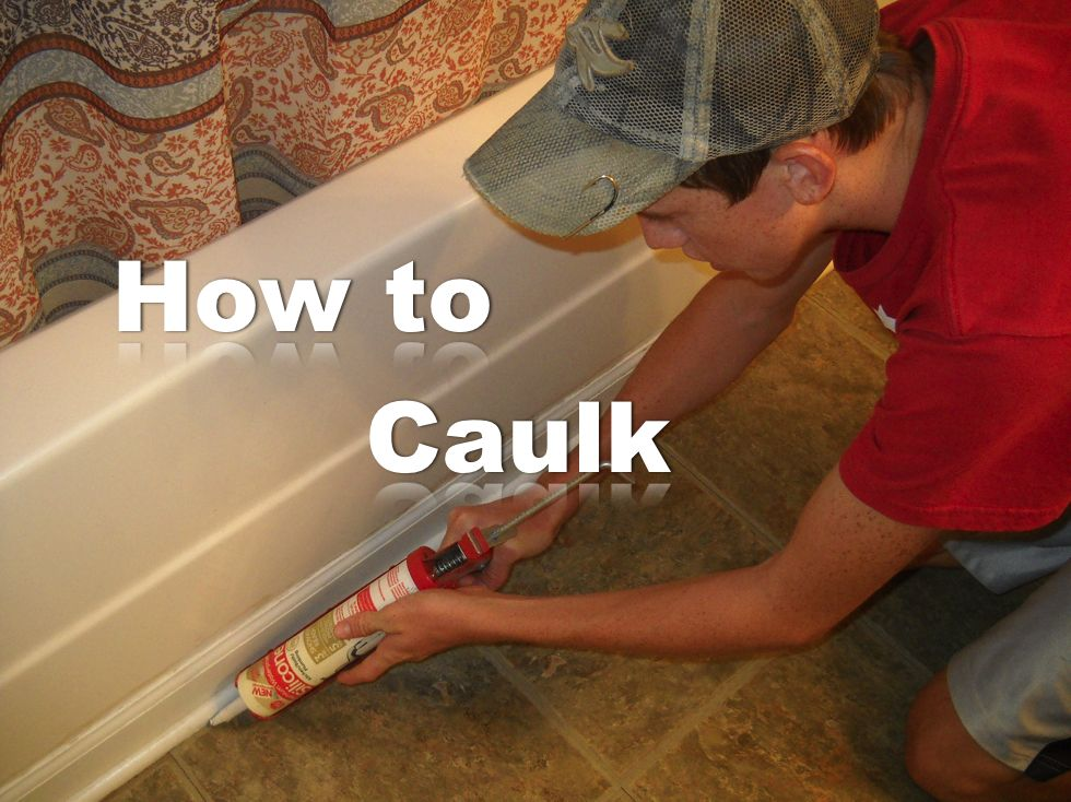 Tub Caulk