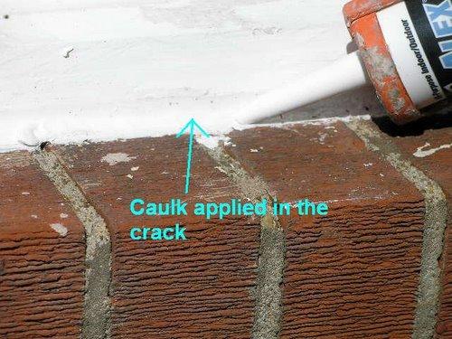 Caulk Crack