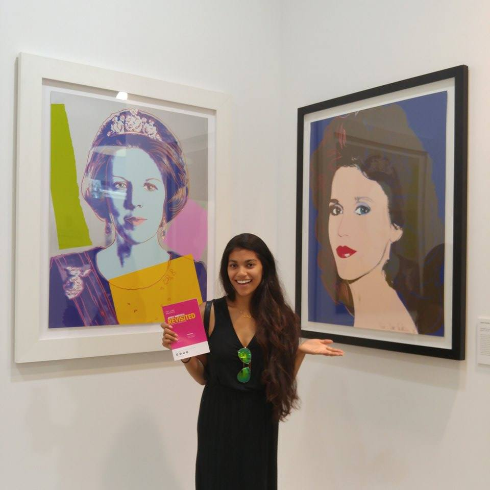 Have you ever stood this close to a Warhol?