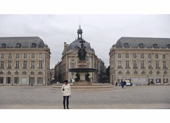 Me, enjoying my time in France, lest you think I am hating on the place.