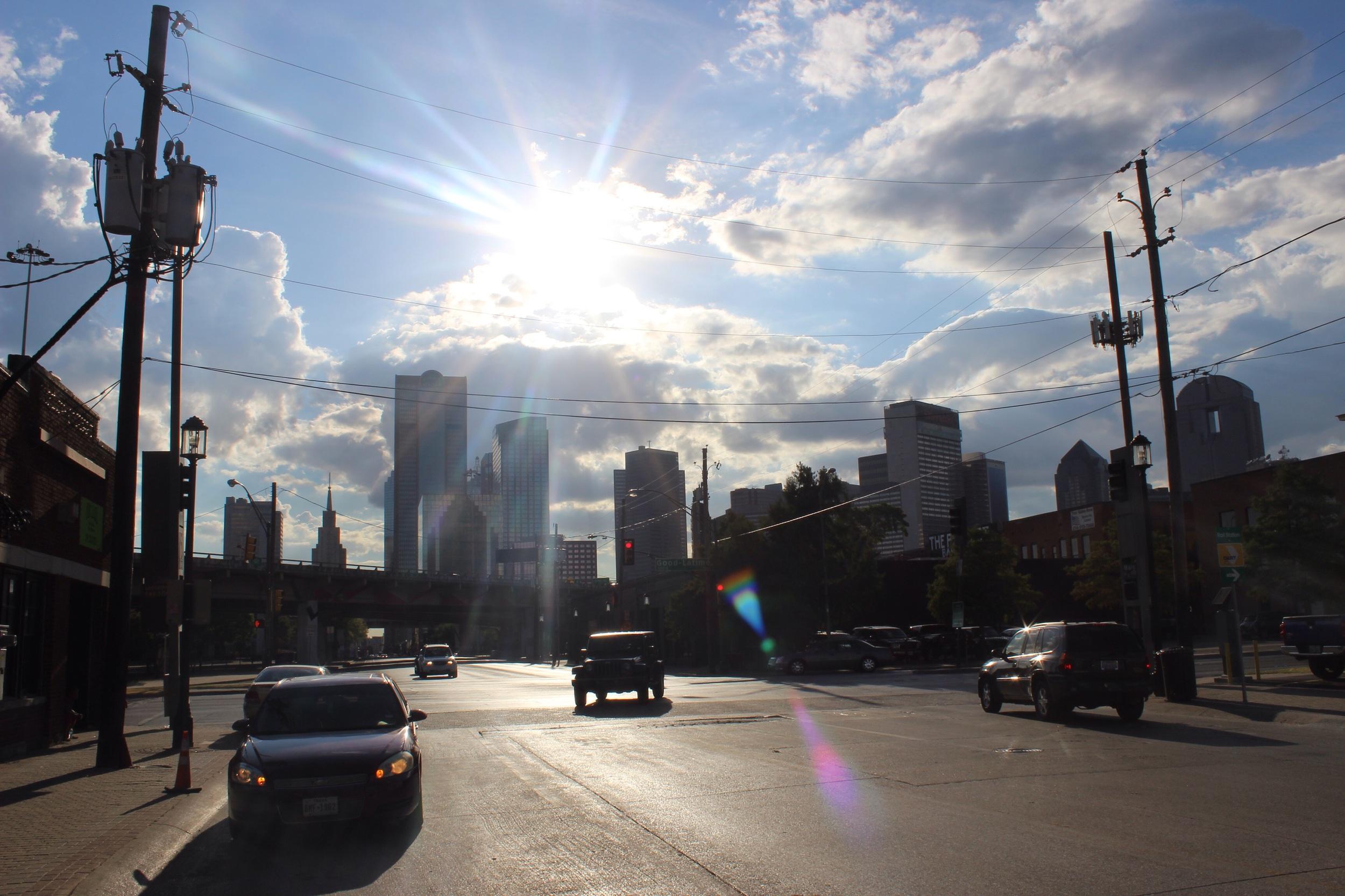 Dallas sunshine