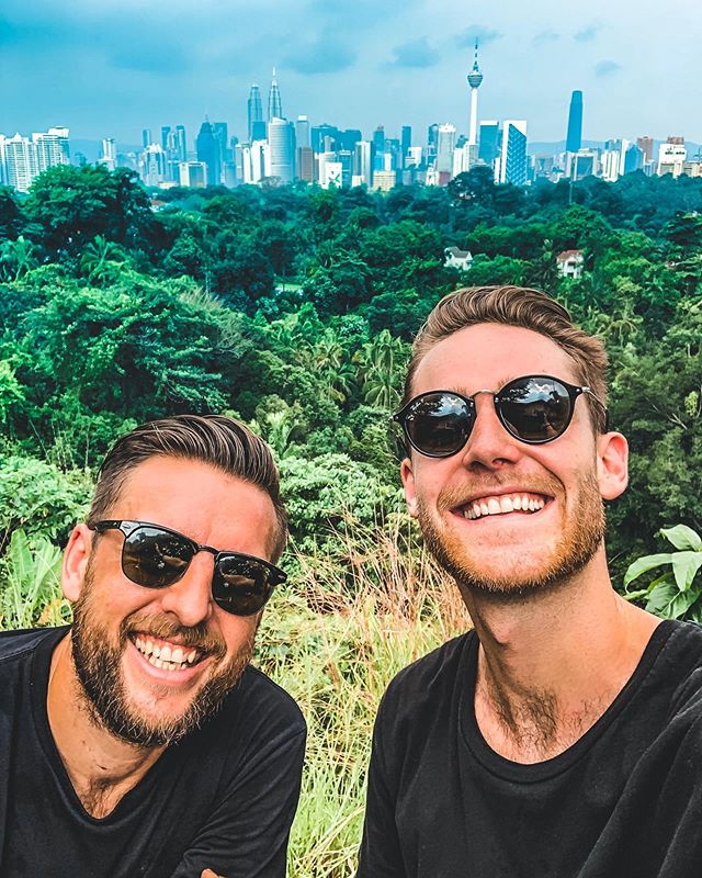 It's been an great couple days catching up with this bloke and a few other legends in KL! 🍃  Today I'm heading to a little retreat in the sticks to spend 4 nights unwinding with no phone & laptop. Seeya on Thursday social media!