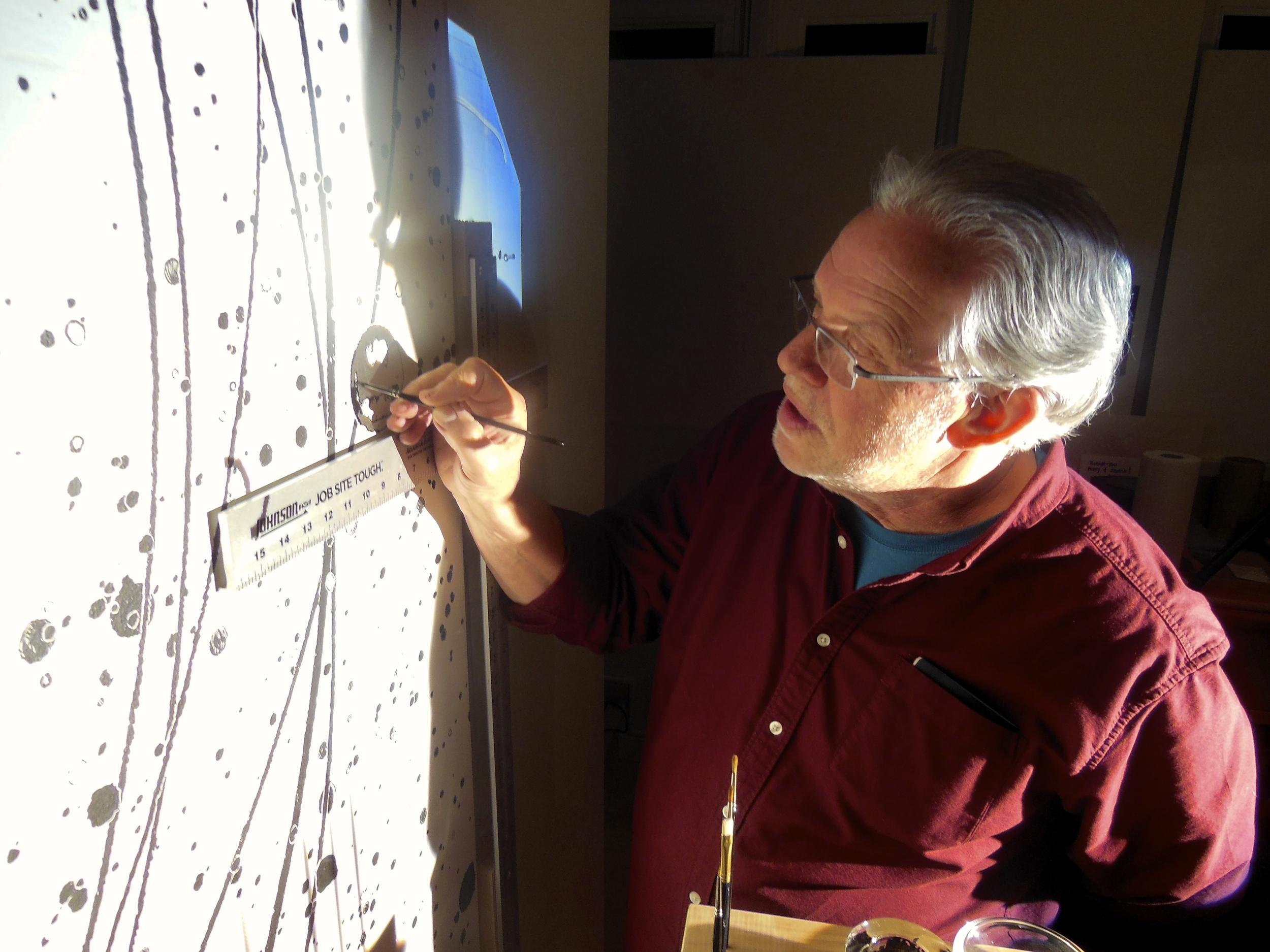 John Noestheden in the studio, 2012