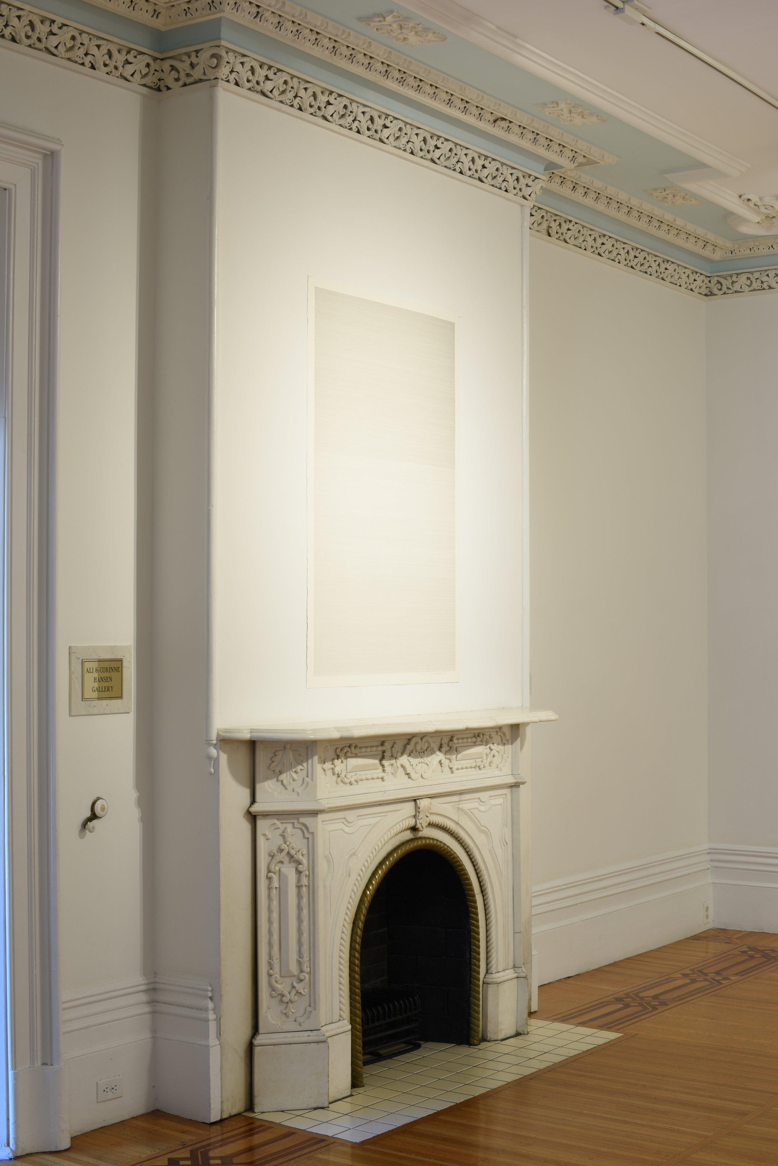 Rodman Hall Installation, 1389 Breaths, 2016