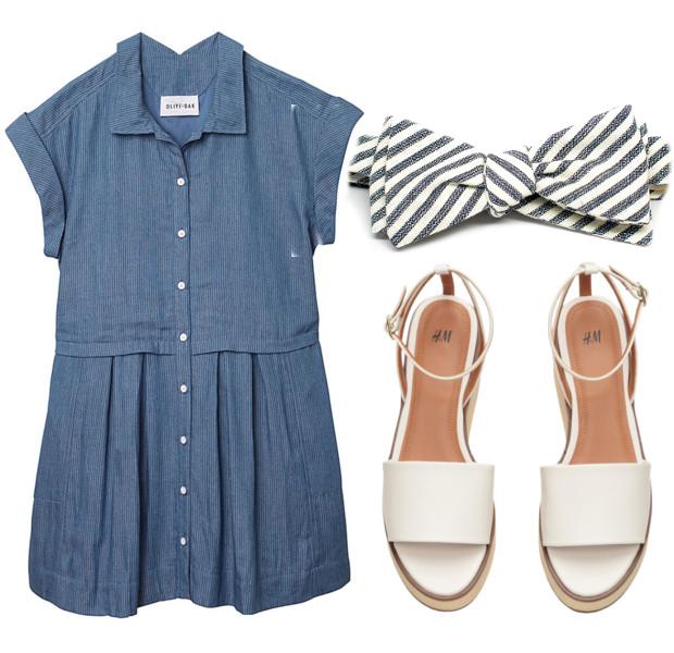 DRESS:   Olive + Oak  //  SHOES:   H&M  //  BOWTIE:   Kathrine Zeren