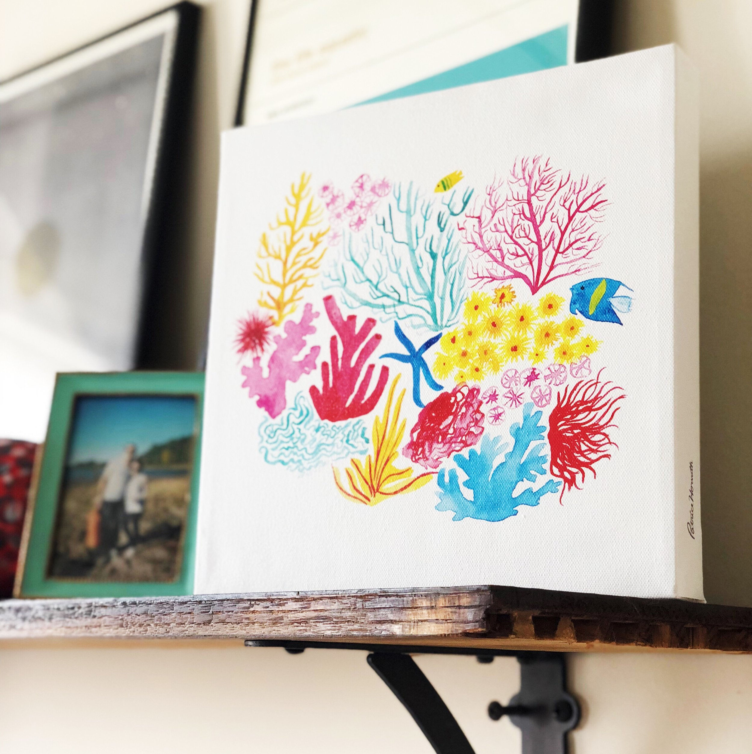 Coral_Under_The_Sea_Ocean_Kids_Wall_Art