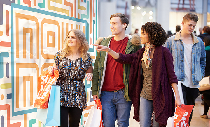 THE CONCEPT - Combine immersive entertainment with immersive shopping