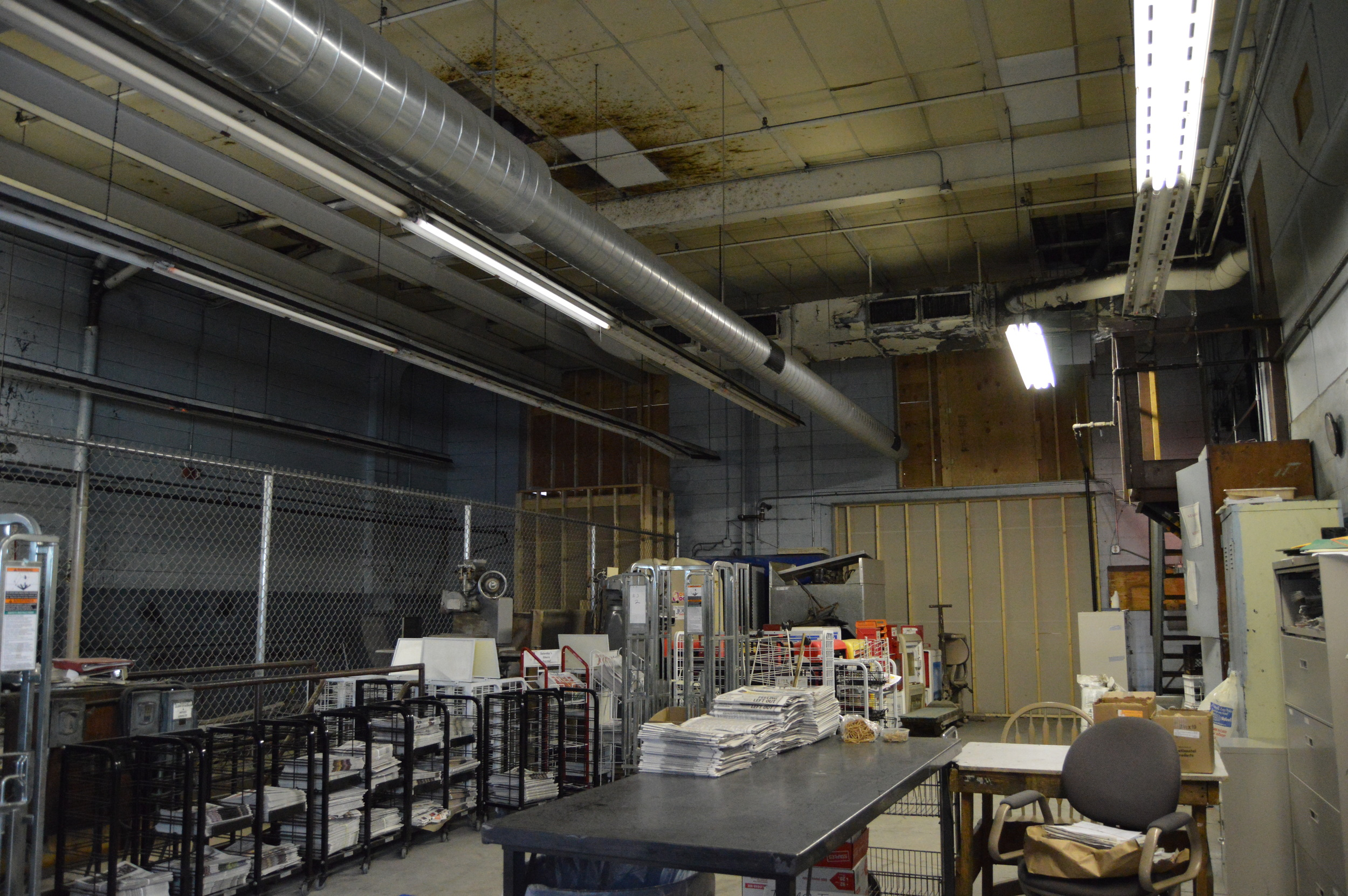 This is what our space used to look like!