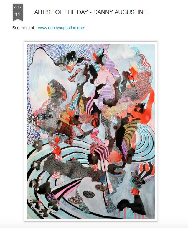 PROTEUS MAG Art blog  http://proteusmag.blogspot.com/2015/08/artist-of-day-danny-augustine.html