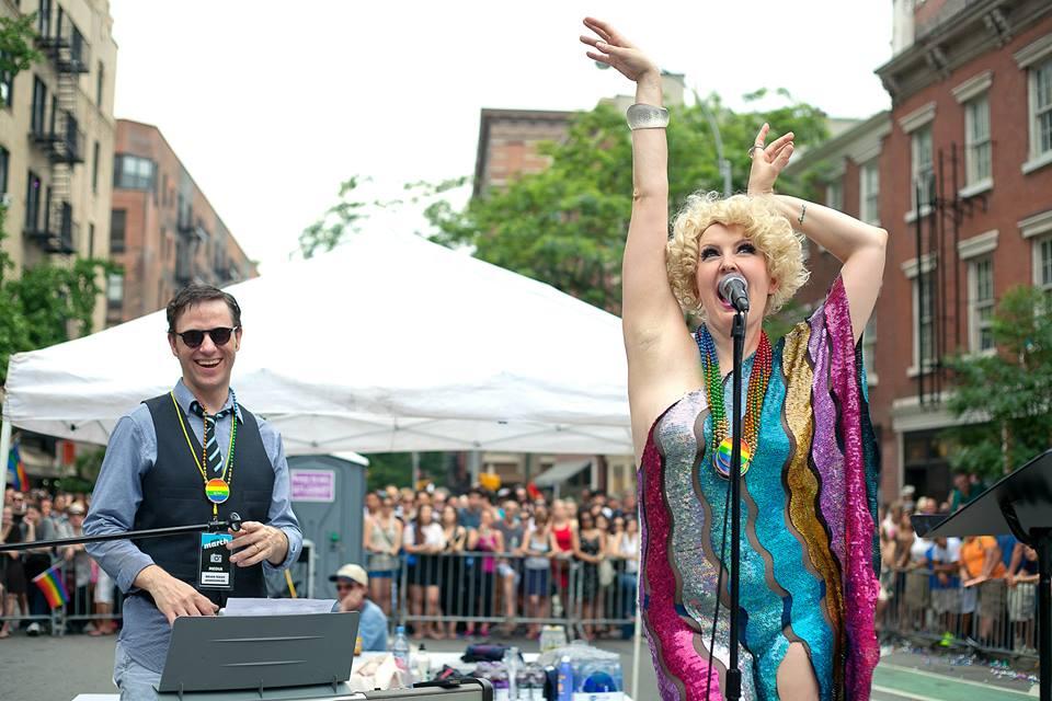 Gay Pride 2013 with Brian Nash.© Preston Burford .