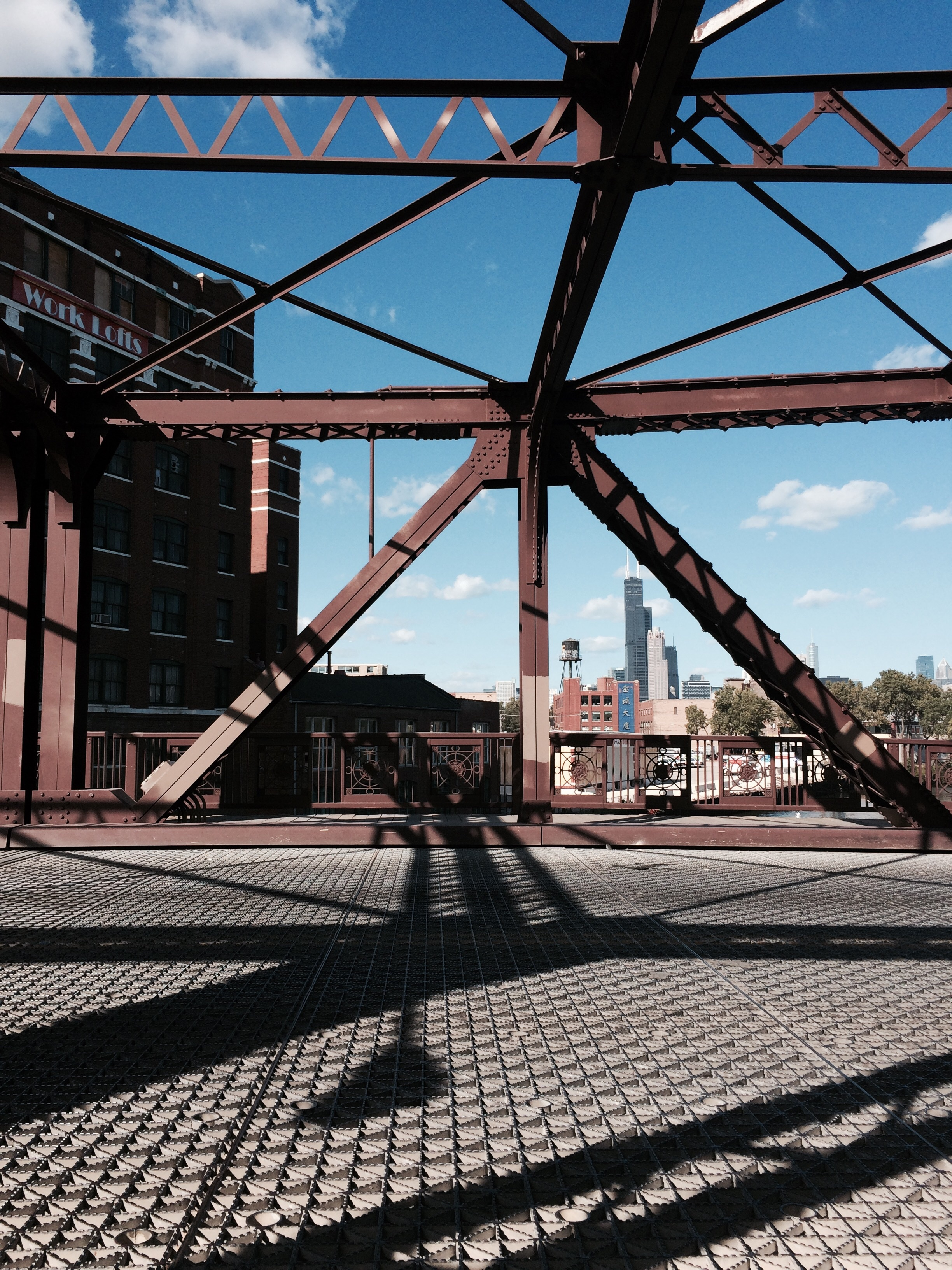 Cermak bridge, Chinatown.