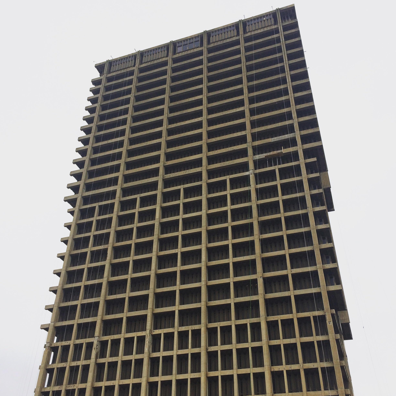 UIC's brutalist campus