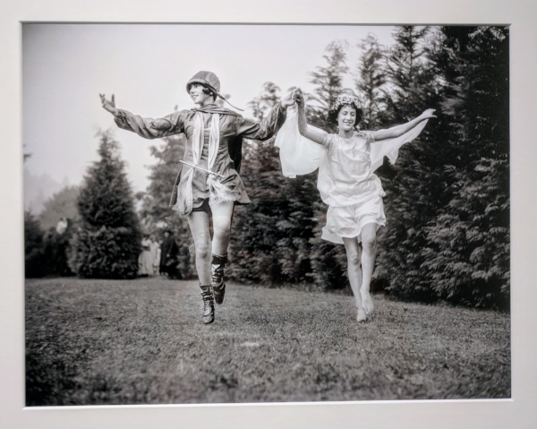 """These unidentified dancers were probably performing in a May Day celebration in Portland, Oregon. May Day festivities were common during this era, with celebrations put on by towns, businesses, organizations, and schools."""