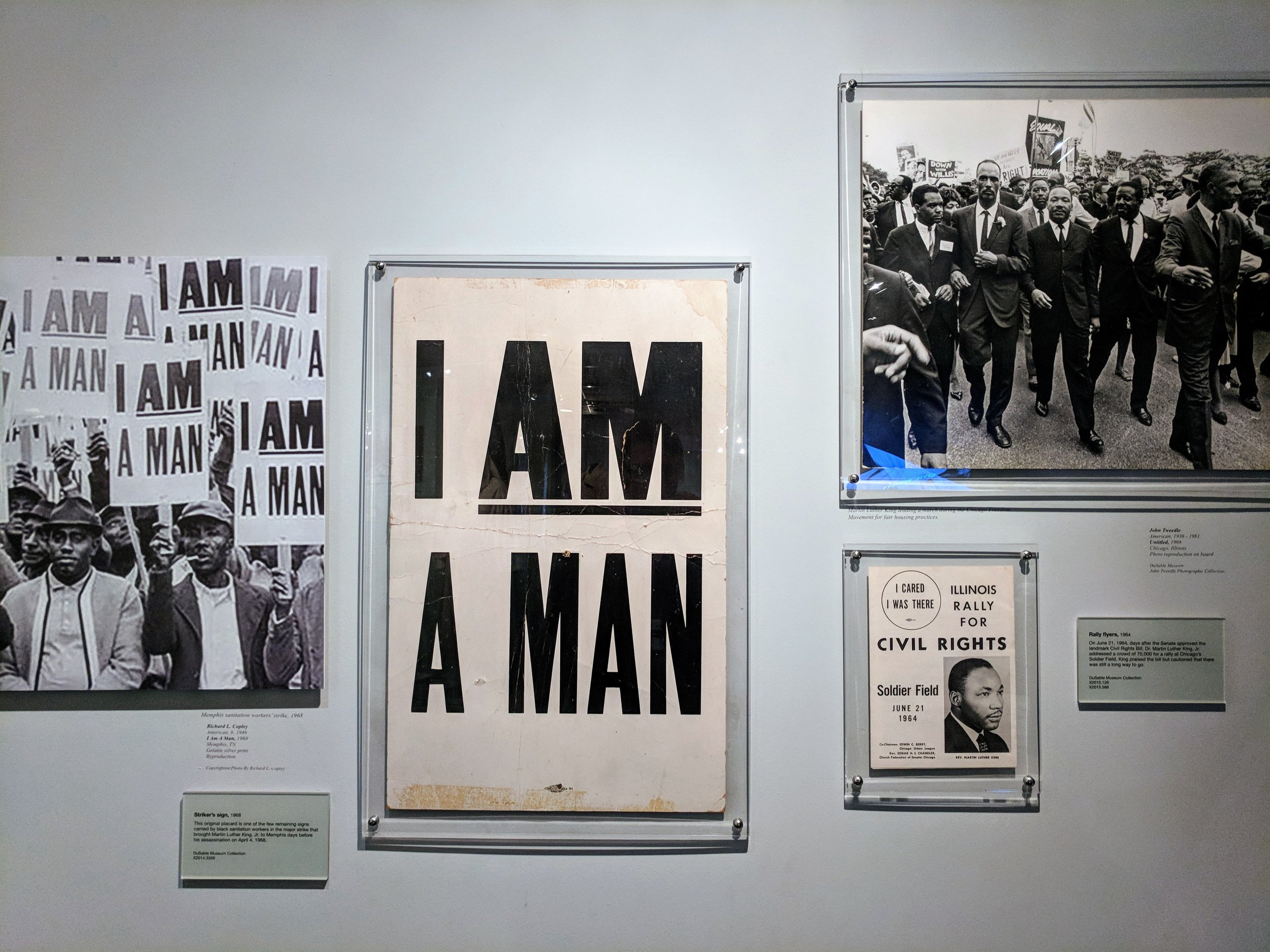 From DuSable Museum's exhibit Freedom, Resistance, and the Journey Toward Equality