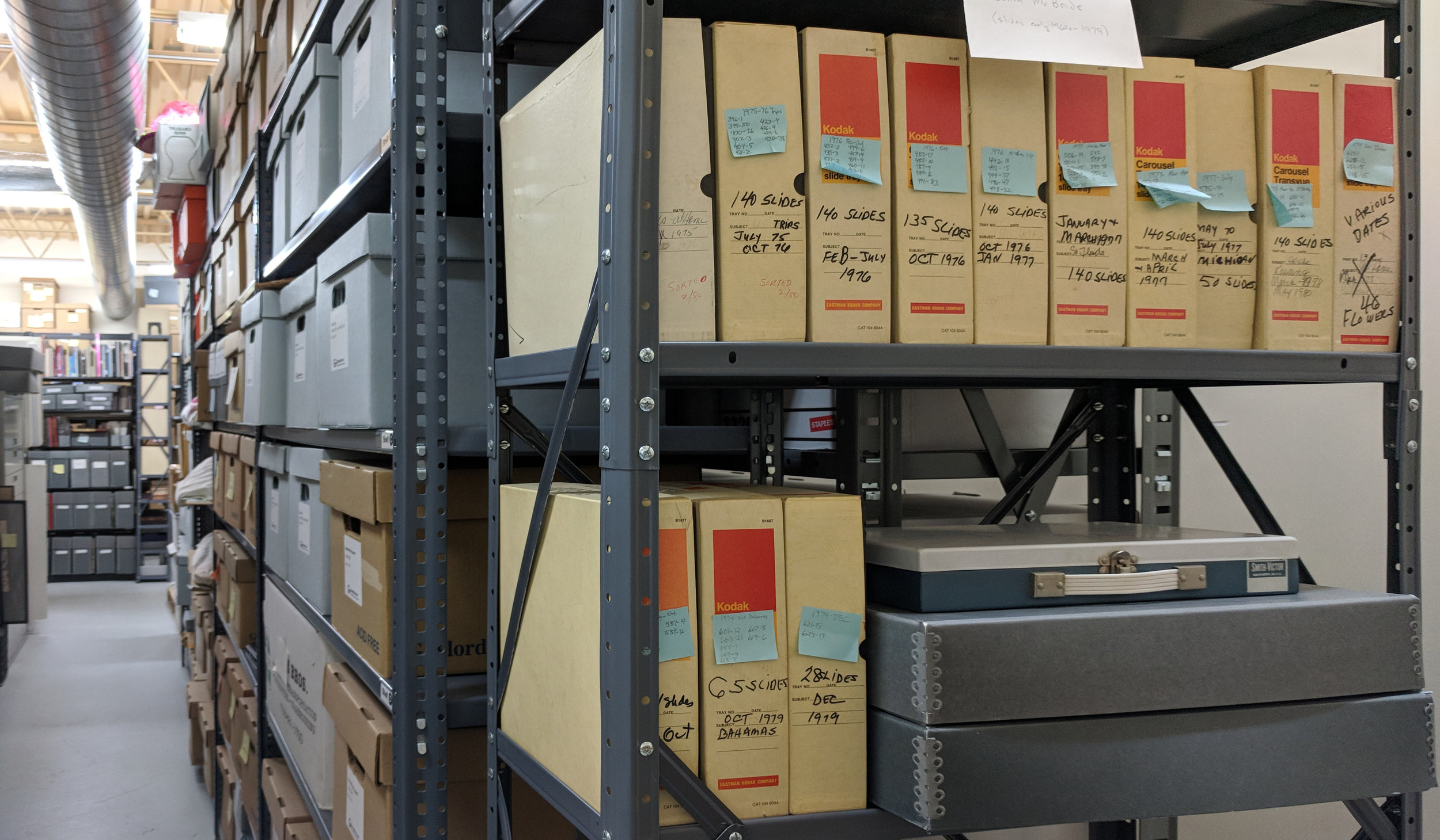 Some of the less common visual resources in the archival collections