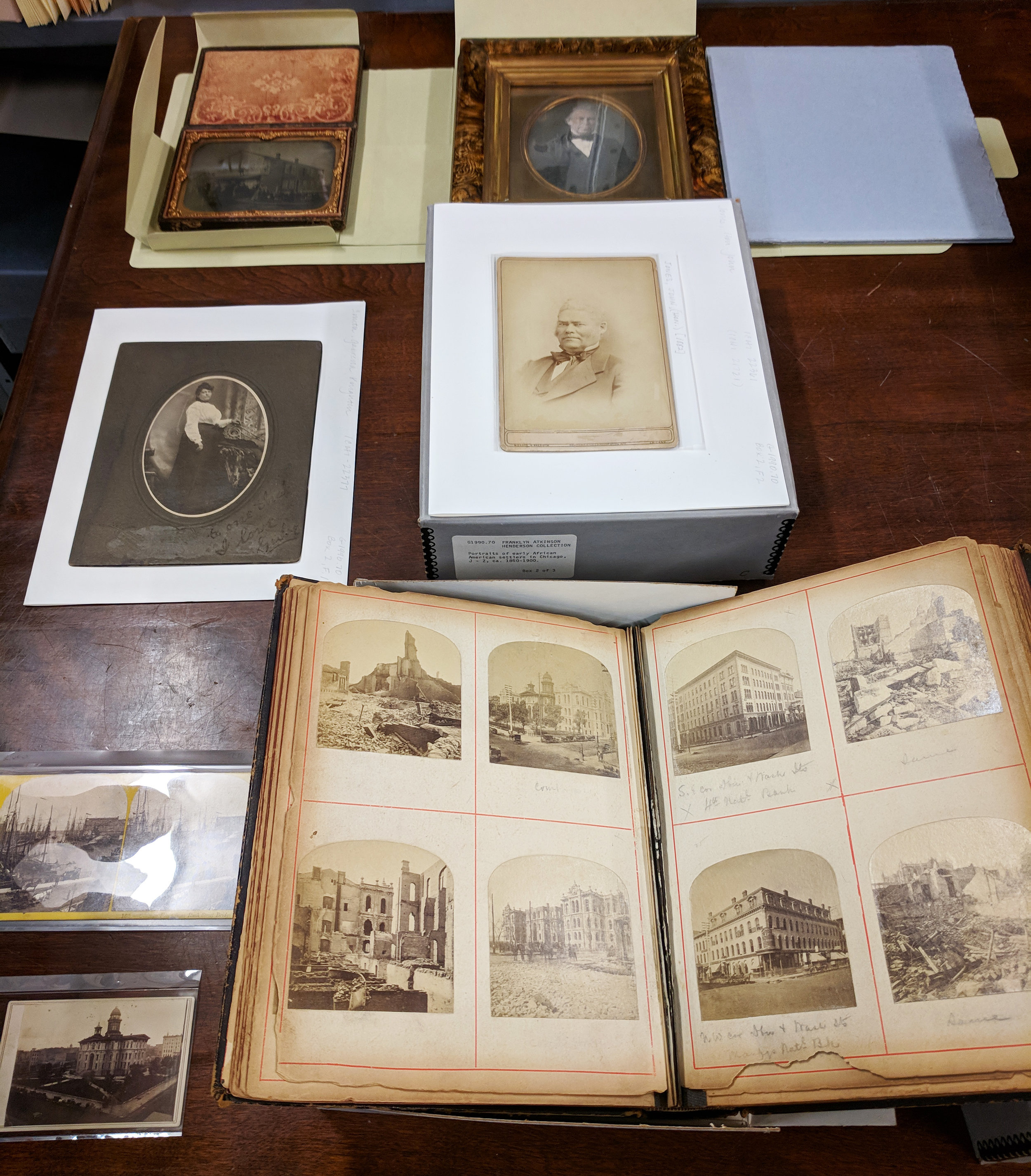 Early processes in CHM's collection