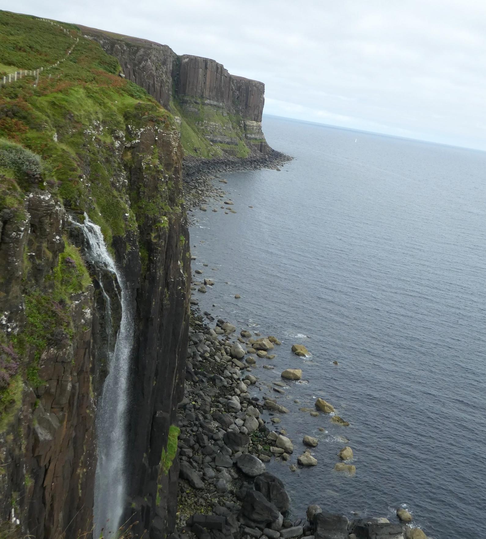 Kilt Rock on the Trotternish Peninsula