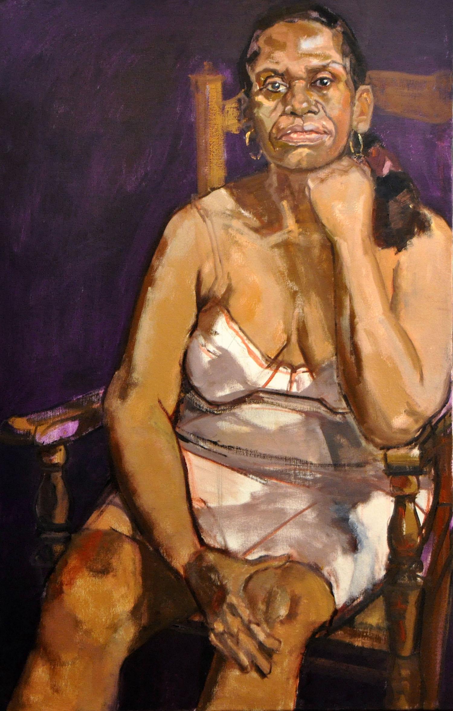 """""""Donna (Purple Background)"""""""