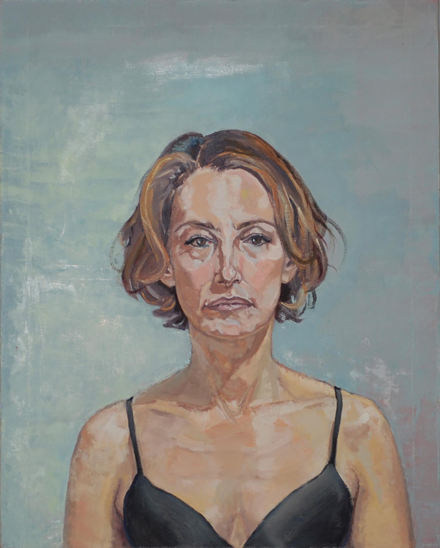 """Self Portrait in Black"""