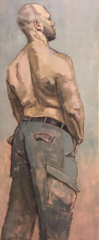 """Man Without Shirt"""